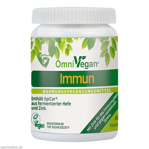 OMNIVEGAN Immun mit EpiCor und Zink, 60 ST, Boma Lecithin GmbH