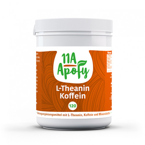 Theanin Koffein, 120 ST, 11a Apofy GmbH