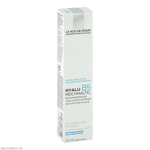 ROCHE-POSAY Hyalu B5 Pflege Reichhaltig, 40 ML, L'Oréal Deutschland GmbH