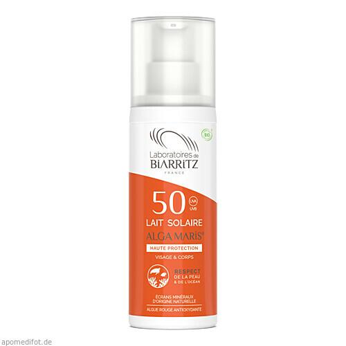 ALGA MARIS SONNENMILCH LSF 50 BIO WASSERFEST, 100 ML, shanab pharma e.U.