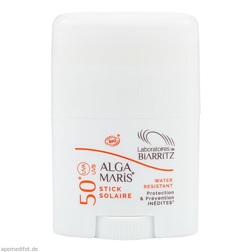 ALGA MARIS SONNENSCHUTZ STICK FEST BIO LSF 50+, 25 G, shanab pharma e.U.