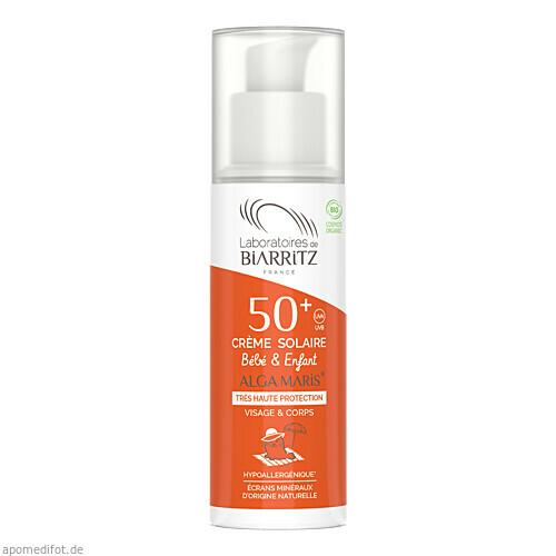 ALGA MARIS SONNENCREME KINDER BIO LSF 50+ UVA UVB, 100 ML, shanab pharma e.U.