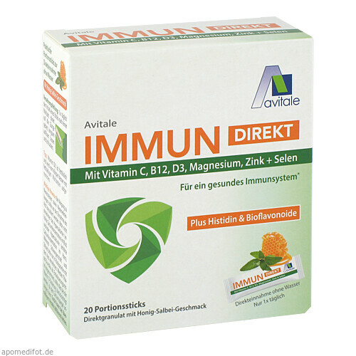 Immun direkt Sticks, 20X2.2 G, Avitale GmbH