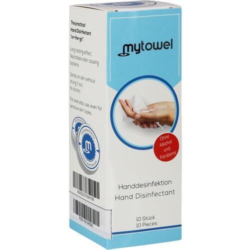 mytowel Handdesinfektion, 10 ST, Berlin R13 GmbH