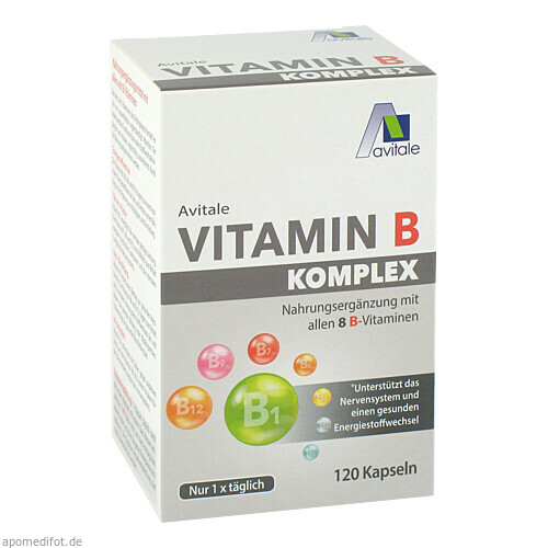 Vitamin B Komplex, 120 ST, Avitale GmbH