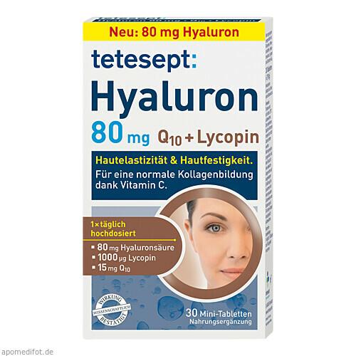 tetesept Hyaluron 80 mg, 30 ST, Merz Consumer Care GmbH