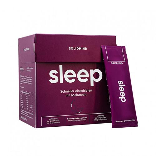 SLEEP Melatonin Einschlafformel für 30 Nächte, 30X12 G, Mediakos GmbH