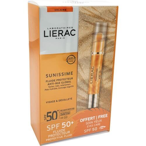 LIERAC SUNISSIME Fluid LSF 50 + gratis Augenstift, 1 P, Ales Groupe Cosmetic Deutschland GmbH