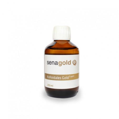 KOLLOIDALES GOLD 5PPM, 200 ML, Senagold Naturheilmittel GmbH