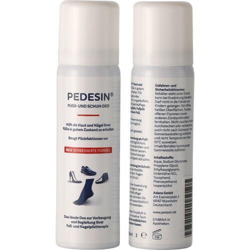 Pedesin Fuss- und Schuh-Deo, 50 ML, Adano GmbH