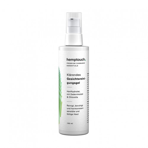 Hemptouch - Klärendes CBD Gesichtsreinigungsgel, 100 ML, Mediakos GmbH