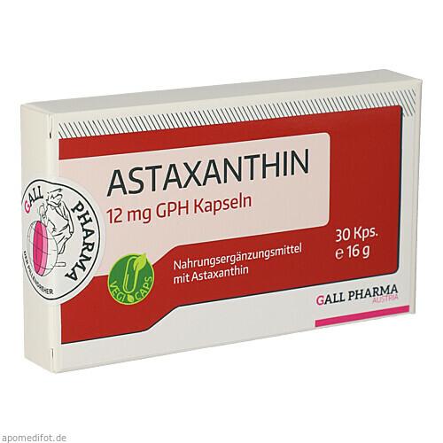ASTAXANTHIN 12MG GPH KAPSELN, 30 ST, Hecht-Pharma GmbH