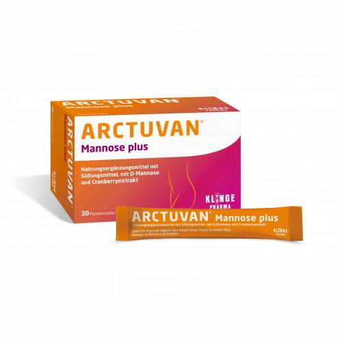 ARCTUVAN Mannose plus, 30X5 G, Klinge Pharma GmbH