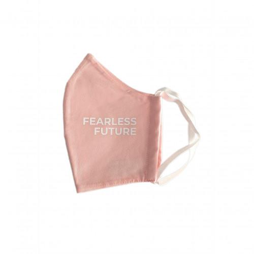 Bio Mund Nasen Maske Fearless Future pink, 1 ST, PHYNE GmbH