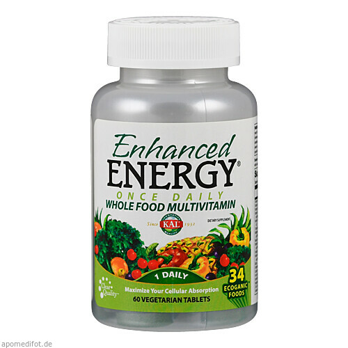 Enhanced Energy Once Daily, 60 ST, Supplementa Corporation B.V.