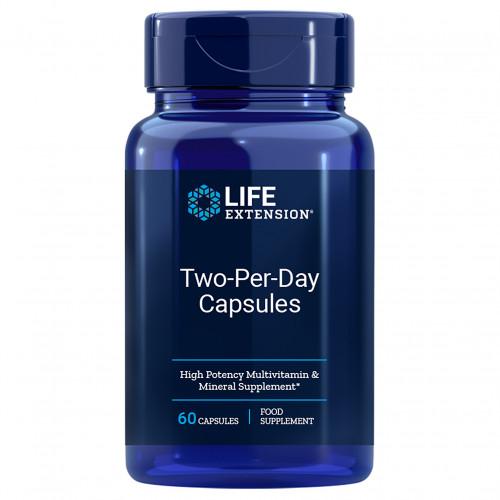 TWO PER DAY MULTIVITAMIN KPS LEF, 60 ST, shanab pharma e.U.
