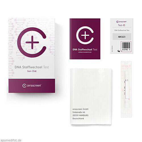Cerascreen DNA Stoffwechsel Test, 1 ST, Cerascreen GmbH