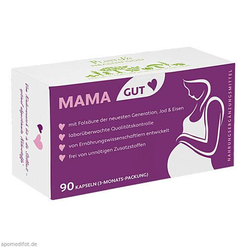 MAMAGUT Schwangerschaft m. Folsäure 3-Mon. - vegan, 90 ST, Plantavis GmbH