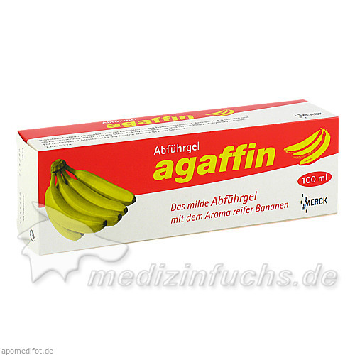Agaffin-Abführgel, 100 ml, Merck GmbH