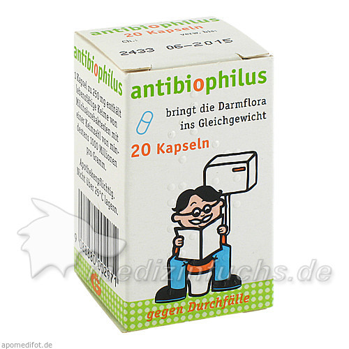 antibiophilus, 20 St, Germania Pharmazeutika GmbH