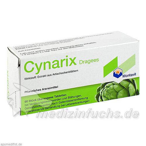 Cynarix DRAGEES, 60 St, Pharmazeutische Fabrik Montavit Ges.m.b.H.