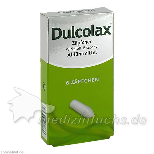 Dulcolax®-Zäpfchen, 6 St, Boehringer Ingelheim RCV GmbH & Co KG