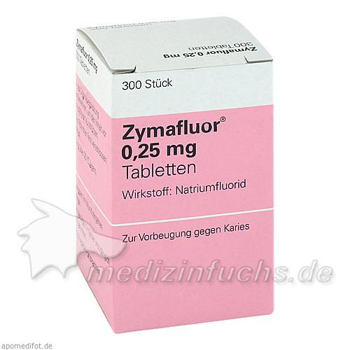 Zymafluor® 0,25 mg, 300 St, MEDA Pharma GmbH & Co.KG