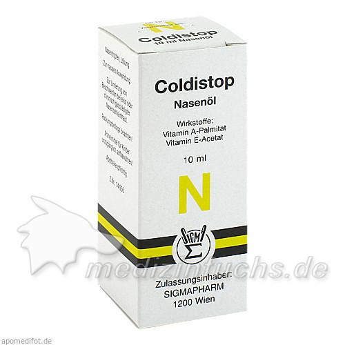 COLDISTOP Nasenöl, 10 ml, Sigmapharm Arzneimittel GmbH