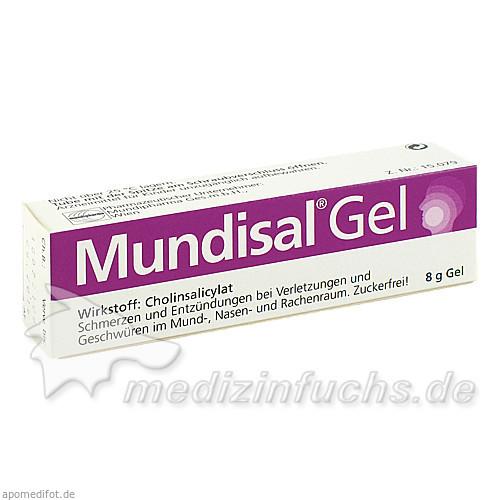 Mundisal® Gel, 8 g, Mundipharma GmbH