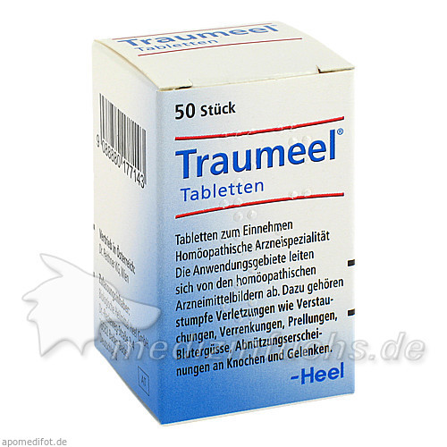 Traumeel® Tabletten, 50 St, Dr. Peithner GmbH & Co KG