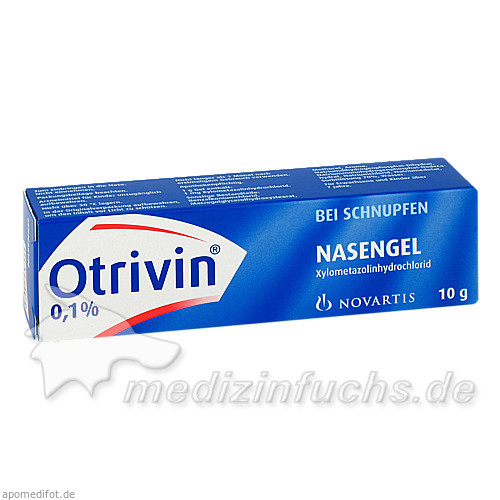 Otrivin® Nasengel, 10 g, GSK-Gebro Consumer Healthcare GmbH