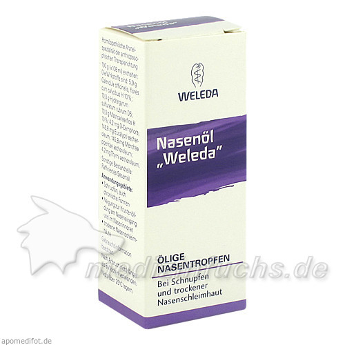 WELEDA Nasenöl, 10 ml, WELEDA Ges.m.b.H. & Co KG