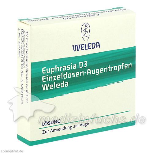 WELEDA Euphrasia D3 Augentropfen, 10 ML, WELEDA Ges.m.b.H. & Co KG