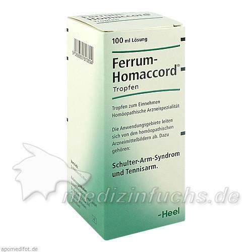 Ferrum Homaccord liquid, 100 ml,