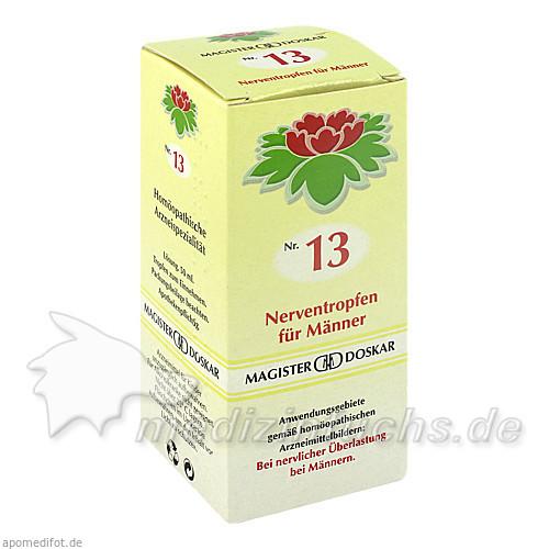 MAGISTER DOSKAR Nr. 13 Nerventropfen für Männer, 50 ml, Magister Martin Doskar pharm. Produkte e.U.