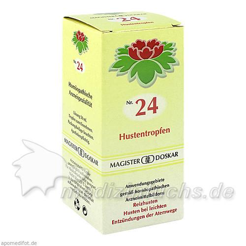 MAGISTER DOSKAR Nr. 24 Hustentropfen, 50 ml, Magister Martin Doskar pharm. Produkte e.U.