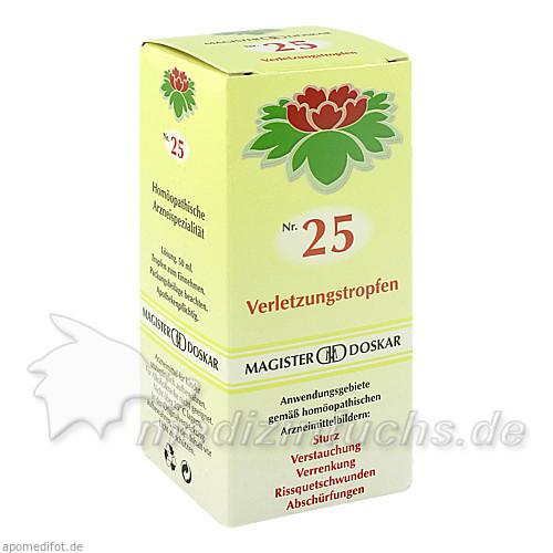 MAGISTER DOSKAR Nr. 25 Verletzungstropfen, 50 ml, Magister Martin Doskar pharm. Produkte e.U.