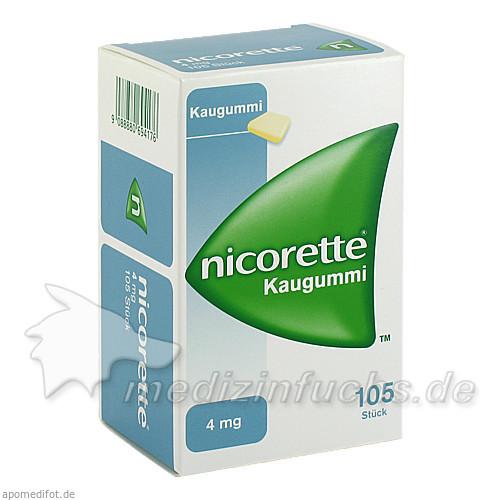 nicorette® Kaugummi 4 mg, 105 St, Johnson & Johnson GmbH