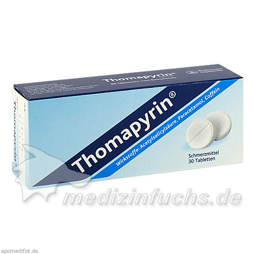 Thomapyrin®, 30 St, Boehringer Ingelheim RCV GmbH & Co KG