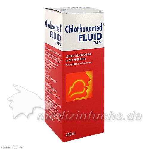 Chlorhexamed® Fluid 0,1 %, 200 ML, GSK-Gebro Consumer Healthcare GmbH