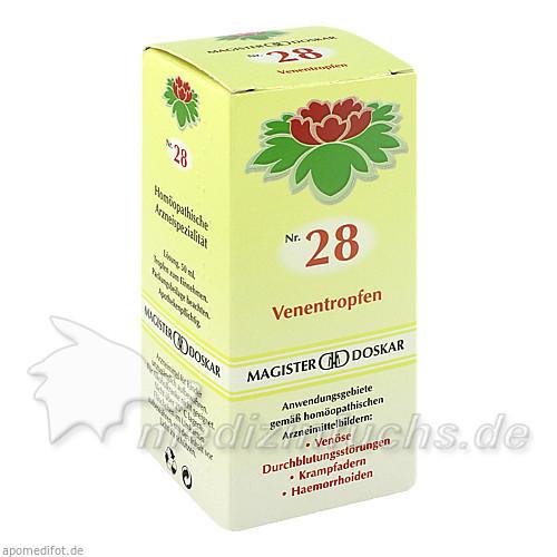 MAGISTER DOSKAR Nr. 28 Venentropfen, 50 ml, Magister Martin Doskar pharm. Produkte e.U.