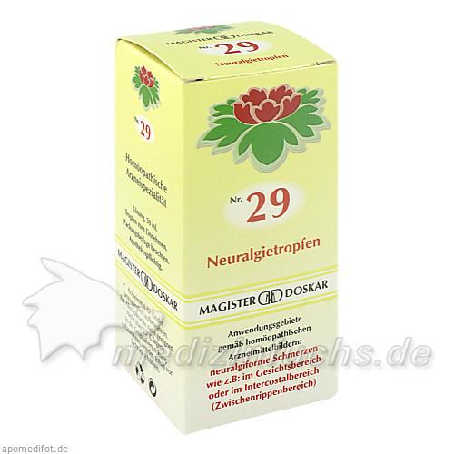 MAGISTER DOSKAR Nr. 29 Neuralgietropfen, 50 ml, Magister Martin Doskar pharm. Produkte e.U.