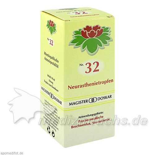 MAGISTER DOSKAR Nr. 32 Neurasthenietropfen, 50 ml, Magister Martin Doskar pharm. Produkte e.U.