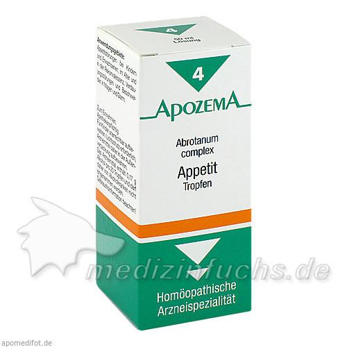 APOZEMA® Appetit Abrotantum complex Tropfen Nr. 4, 50 ml, Apomedica Pharmazeutische Produkte GmbH