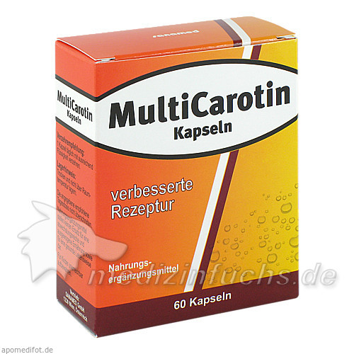MultiCarotin Kapseln, 60 St, Sanamed GmbH