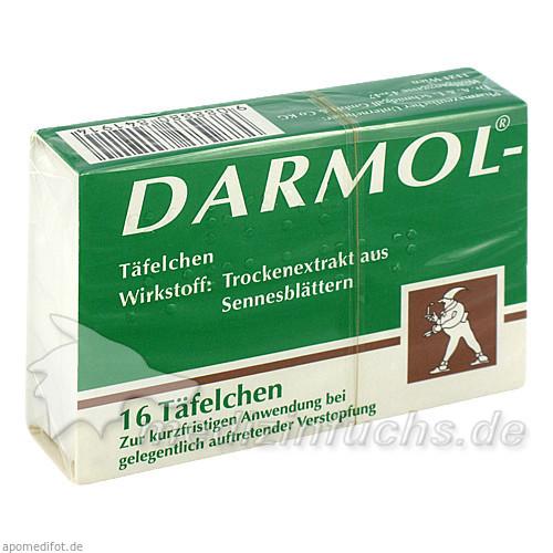 Darmol Abführschokolade Täfelchen, 16 Stk., SCHMIDGALL DR A.&L.