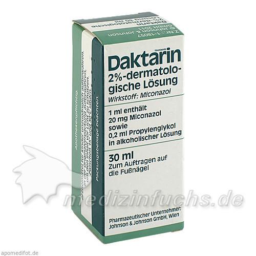 Daktarin® Dermatologische Lösung, 30 ml, Johnson & Johnson GmbH