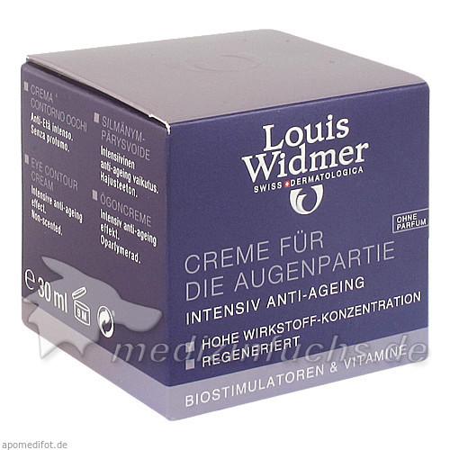 Widmer Creme für die Augenpartie ohne Parfum, 30 ml, WIDMER LOUIS GES M B H