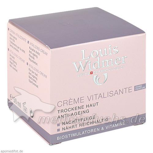 Widmer Crème Vitalisante ohne Parfum, 50 ml, WIDMER LOUIS GES M B H