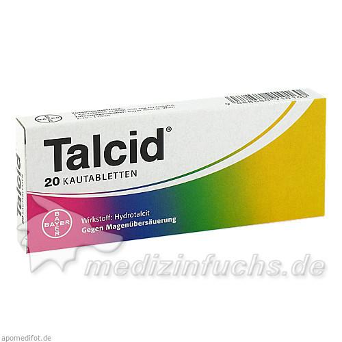 Talcid® Kautabletten 500 mg, 20 St, Bayer Austria GmbH